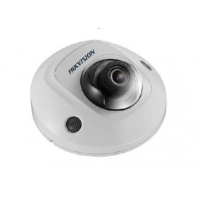 Hikvision 6MP Outdoor Mini Dome,H.265+,10m IR,Mic[DS-2CD2555FWD-IS]