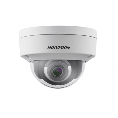 Hikvision 6MP Outdoor Dome Camera,H.265+,30m IR,Alarm/Audio IO,IP67 [DS-2CD2155FWD-IS]