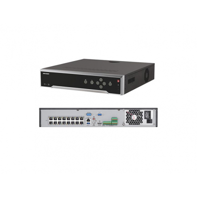 Hikvision 32 Channel IP Network Video Recorder (NVR),3TB HDD,16xPoE Ports [DS-7732NI-I4-16]