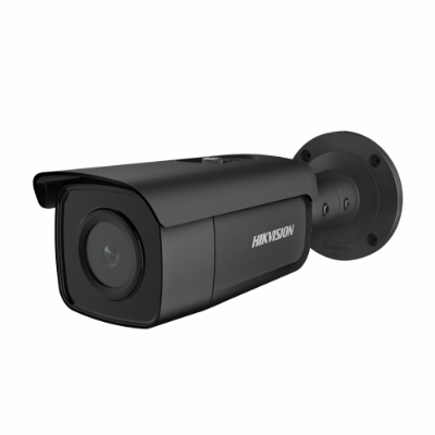 Hikvision 6MP Outdoor Bullet Camera,Powered by Darkfighter,50m IR,Black [DS-2CD2T65G1-I5]