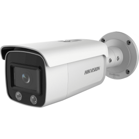 Hikvision 4MP Outdoor ColorVu Bullet Camera,120db WDR,30m White LED,IP67 [DS-2CD2T47G1-L]