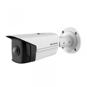 Hikvision 4MP 180 deg Indoor Wide Angle Bullet Camera, H.265, IR, WDR [DS-2CD2T45G0P-I]