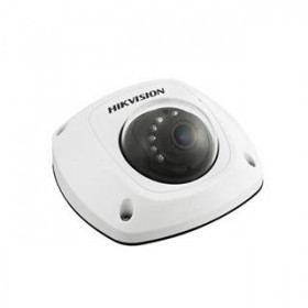 Hikvision 4MP Mini Dome,WIFI,H.264+,10m IR,Mic [DS-2CD2542FWD-IWS]