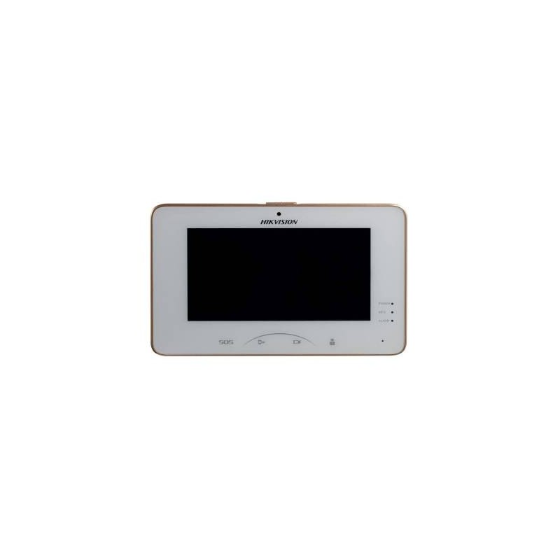 Hikvision Intercom 7 Inch Room Station, Touchscreen,WiFi [DS-KH8301-WT]